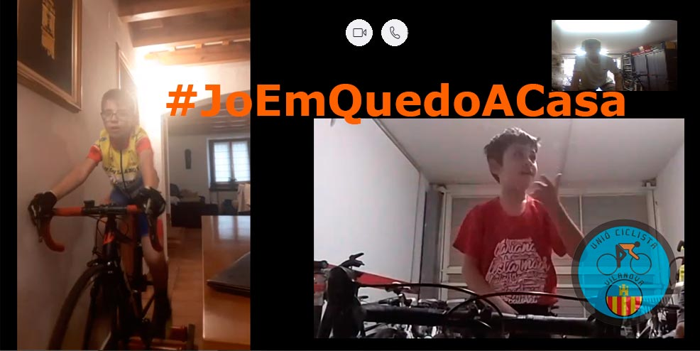 #JoEmQuedoACasa i entreno amb l'Escola