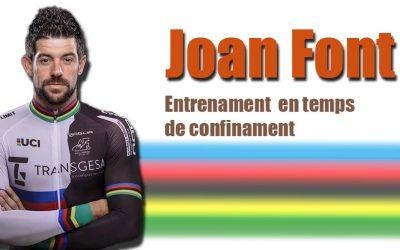 Entrenament Joan Font