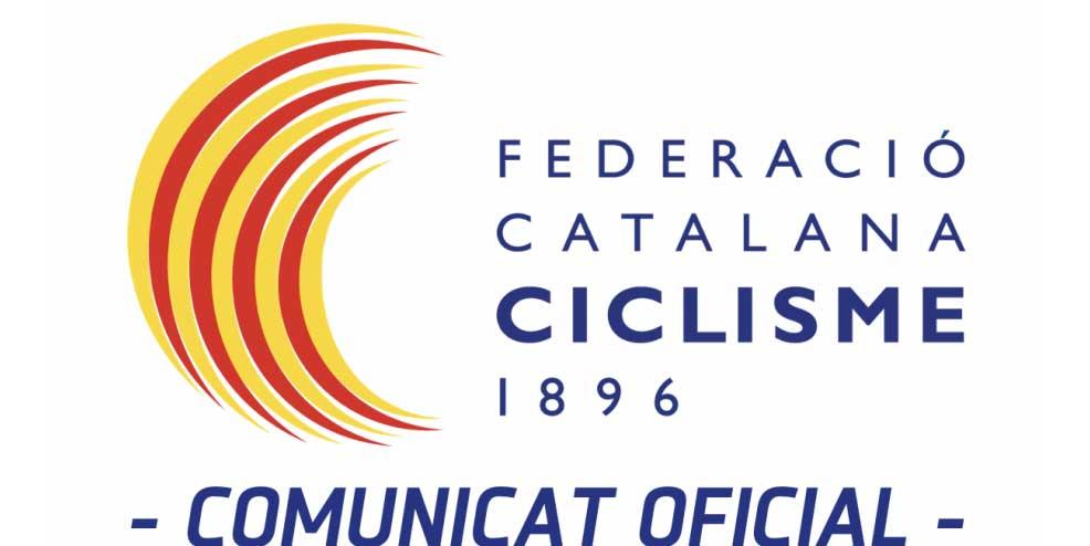 Comunicat de la Federació Catalana