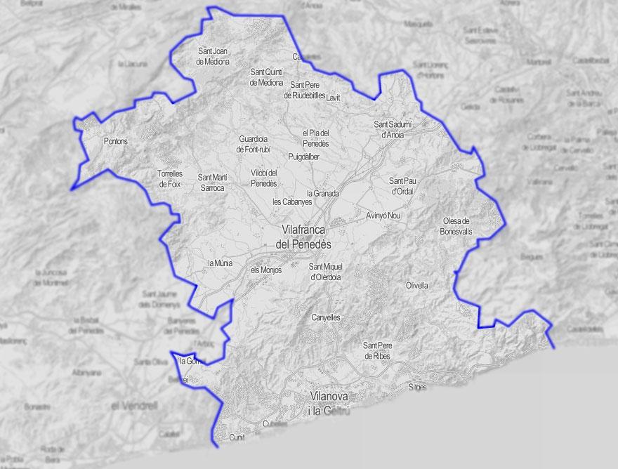 Sub Regió Sanitària Garraf - Alt Penedès