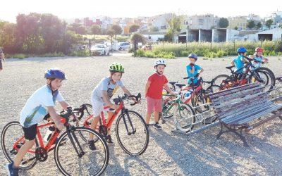 Comencen les activitats extraescolars de ciclisme UCV