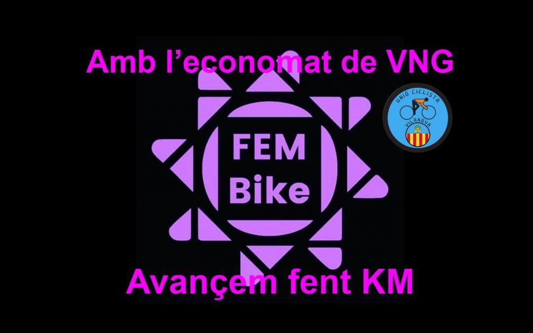 La unió ciclista vilanova col.labora amb  les FemBike Garraf
